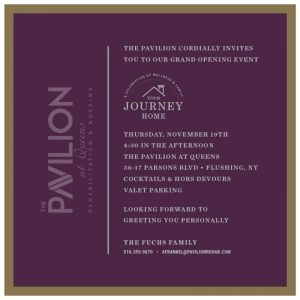 The Pavilion Invitation